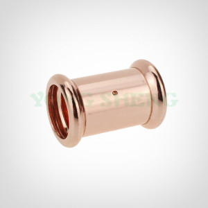 Copper Press Fitting Coupling