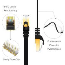 Cabos de comunicação Cat7 Jumper Flat Patch Cable