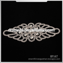 Iron On Bride Wedding dress Crystal Rhinestone Appliques,China Wholesale Applique