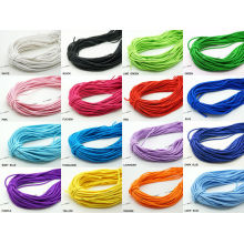 colored elastic cords stretch elastic rubber cord