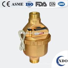 Compteur d'eau remplie liquide volumétrique à piston rotatif