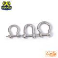Manille de bracelet en acier inoxydable Paracord