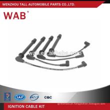 Fio de peças de carro de alto desempenho conjunto fio de vela de ignição alta tensão definida para Renault 7700114549