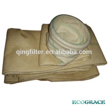 Filtration nonwoven needle felt nomex filter bag for Power Plant