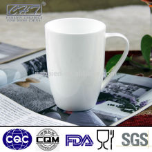 Super weiße königliche feine Knochenporzellan-Kaffeetasse