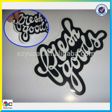 High quality custom racing car sticker