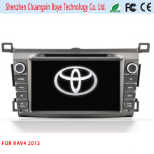 Dos DIN Universal Car DVD Player para RAV4 2013