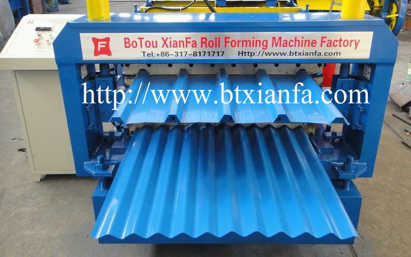 Metal Roof Rolling Machine