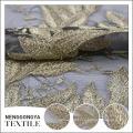 Chine usine Designer broderie tulle polyester microfibre tissu