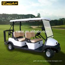 Elektrischer Golfwagen 48V 6 Sitzer, elektrisches Golfbuggyauto, elektrisches Rollerauto
