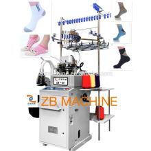 Einzylinder 3.75 Frottee und einfache Socken Strickmaschine