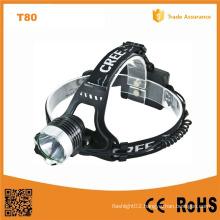 10W CREE Xm-L T6 Aluminum LED Headlamp (POPPAS- T80)
