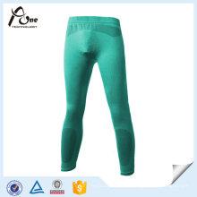 Pantalones largos de la ropa interior de la capa de la base termal del hombre de la manera