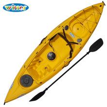 3.11m plástico único sentarse en la canoa de kayak de pesca superior
