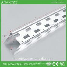 Grade de canto para proteção contra drywall
