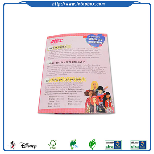 High quality cheap colorful brochure