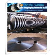 Недорогая двусторонняя клейкая лента из алюминиевой фольги с двухсторонней клейкой лентой