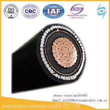 Cabo de alimentação de cobre / de alumínio da média tensão Cabo de aço / fita de alumínio blindado 70mm2 95mm2 120mm2 150mm2 185mm2 240mm2 300mm2
