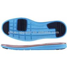 EVA de 2013 e sola de corrida de borracha sola de corrida casual para fabricação de calçados