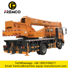 8-16T Auto Mobile Crane with Wheel