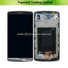 Pantalla LCD para LG G3 D855 con pantalla táctil con carcasa frontal
