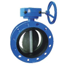 Cast Iron/Ductile Iron Double Flanged Concentric Butterfly Valve