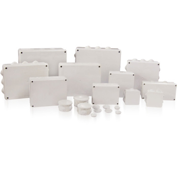 Caja de conexiones eléctrica impermeable