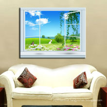 Windows Canvas Home goods wall art canvas painting/wall art for hotel