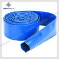 Blue Flexible PVC Lay Flat Pipe