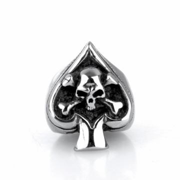 Hip hop cincin baja titanium antik non-mainstream sihir