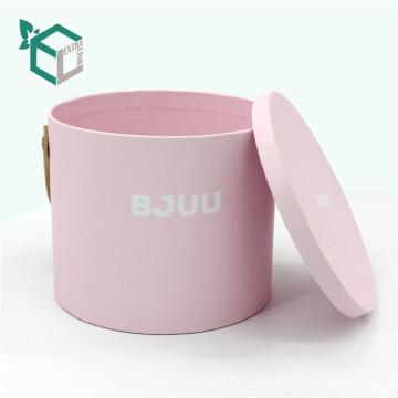 Silk Laminierung Printing Handhabung und Annahme Custom Order benutzerdefinierte Geschenk-Box für Rose