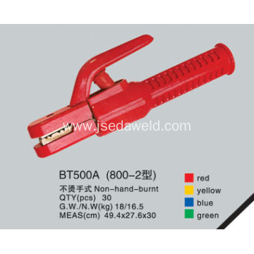 Non Hand Burnt Type Electrode Holder BT800A-2