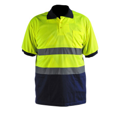 Short Sleeve Reflective Safety Shirt