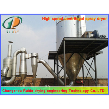 Monomeric protein spray dryer