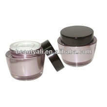 Pot en acrylique ovale 50g