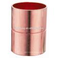 JKL9001 Kupferbeschlag, CxC, Kupplung für Kupferrohr & Rohr