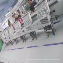 China logotipo uniformes chapéus roupas meias palmilhas couro 4 cabeça máquina de bordar