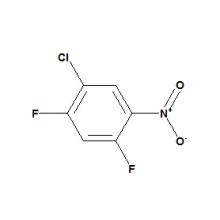 2, 4-difluoro-5-chloronitrobenzène N ° CAS 1481-68-1