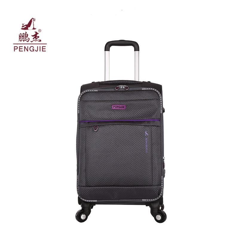 Wterproof fabric Modern fashion luggage with TSA lock