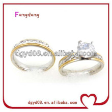 Gold-plating Ring Couple Ring Wholesale For Lover
