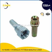 Com 10 anos de experiência na fábrica fornecimento de alta pressão da mangueira hidráulica máquina de friso