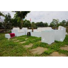 2017 Elegantes Design PE Rattan Sofa Set Outdoor Möbel