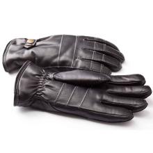 Herrenmode Schaffell Leder Motorrad Fahren Handschuhe (YKY5188-1)