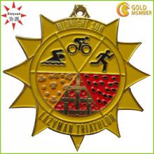 Médaille courante d'émail en haute qualité personnalisée