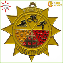 Factory Custom High Quality Enamel Running Medal