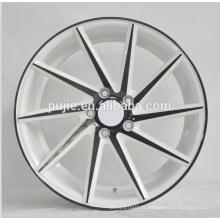 18x8.5 18x9.5 5x100 5x120 rodas de liga leve ZZR