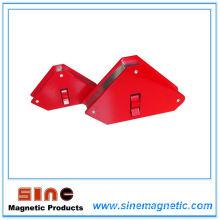 Portaherramientas / fijador de soldadura magnética multiángulo de flecha con interruptor