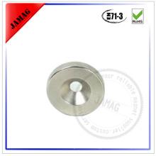 JMD countersink magnet D25d5H3 standard N35 neodymium magnet