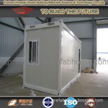 Prefab low cost container house Galvanized steel Construction  HTP-037