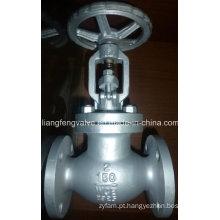 Fio da flange da válvula de globo com aço carbono RF